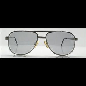 Titmus T601A Silver Aviator Sunglasses Frames